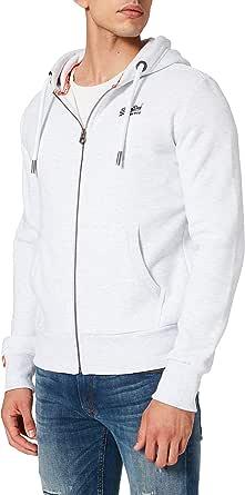 Superdry Men's Orange Label Ziphood Hooded Sweatshirt