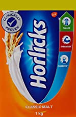 Horlicks Health & Nutrition drink - 1 kg Refill pack (Classic Malt)