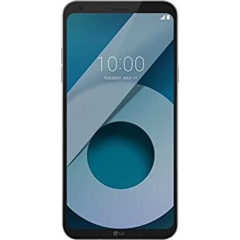 LG Q6 Smartphone Dual SIM FullVision 5.5'', Batteria da 3000 mAh, Fotocamera 13 MP + 5 MP Grandangolare, Octa-Core 1.4 GHz, Memoria 32 GB, 3 GB RAM, Android 7.1.1 Nougat, Ice Platinum [Italia]