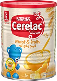 Nestle Cerelac Infant Cereal Wheat & Fruits Tin 400g