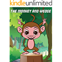 The monkey and wedge: Bedtime Stories For Kids, Fairy Tales In English