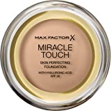 Max Factor Miracle Touch Foundation, gyllene beige