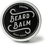 Charlemagne Beard Balm - 100% natürliches Bart Balsam - Bart-Wachs Made in UK - Bart-Creme Entwickelt von Barbieren - Bart-Balm für Bartpflege - Bart-Pomade und Bart-Wichse für Herren
