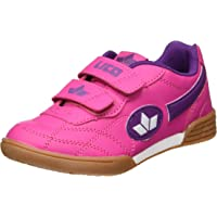 Lico Bernie V, Scape per Sport Indoor Bambina, Blu (Pink/Lila/Weiss Pink/Lila/Weiss), 32 EU