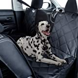 Fluffy's Luxurious Dog Car Seat, Car Trunk Covers Oxford-Dog Hammock with Side Protection Waterproof - (Rear Seat Cover (Seda