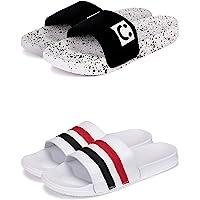 BEONZA Men's Flip-Flop (Set of 2 Pairs)…