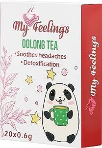 My Feelings, tè Oolong, in polvere, 20 bustine da 12 g