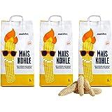 Maister BBQ KS0628 Maiskohle 3er-Pack (9 kg)