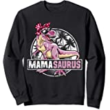Mamasaurus Mama T rex Dinosaur Family Matching Sweatshirt