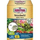Naturen Bio Netzschwefel MehltauPilzfrei, Biologisches Spritzpulver gegenpilzlichePflanzenkrankheiten an Obst, Gemüse und