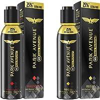 Park Avenue Premium Perfume, Magnifico,(25% free) 150ML/125g And Park Avenue Regal Premium Perfume For Men, 150ml