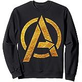 Marvel Avengers Gold Foil Chest Logo Sweatshirt