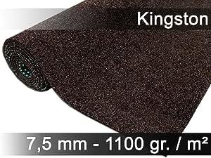 beige Kunstrasen Rasenteppich mit Noppen angenehm weich Farbe braun in verschiedenen Gr/ö/ßen