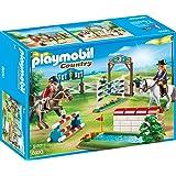 Sonstige Playmobil 9401 Reitsportgeschäft mit Holzpferd zum Testen von Reitzubehör Playmobil