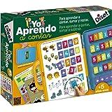 Diset 63752 Yo Aprendo a a Contar Jag lär mig räkning, färgglad, 31,5 x 26,2 x 6,1