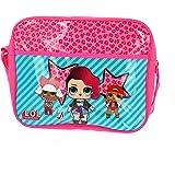 LOL Surprise - Messenger Bag   Schultasche   Umhängetasche für Mädchen   Glam Club   LOL Dolls