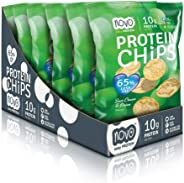 NOVO Protein Chips - Sour Cream and Onion - box of 6