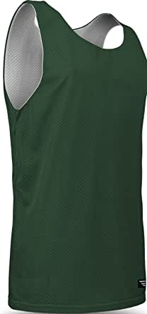 Game Gear Reversible Mesh Workout Jersey, Basketball/Gym Tank Top for Men and Boys (15 Colors)