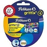 Pelikan Griffix Giant bläckpatroner 4001 Gtp/5/2/B Ass.Blisterform