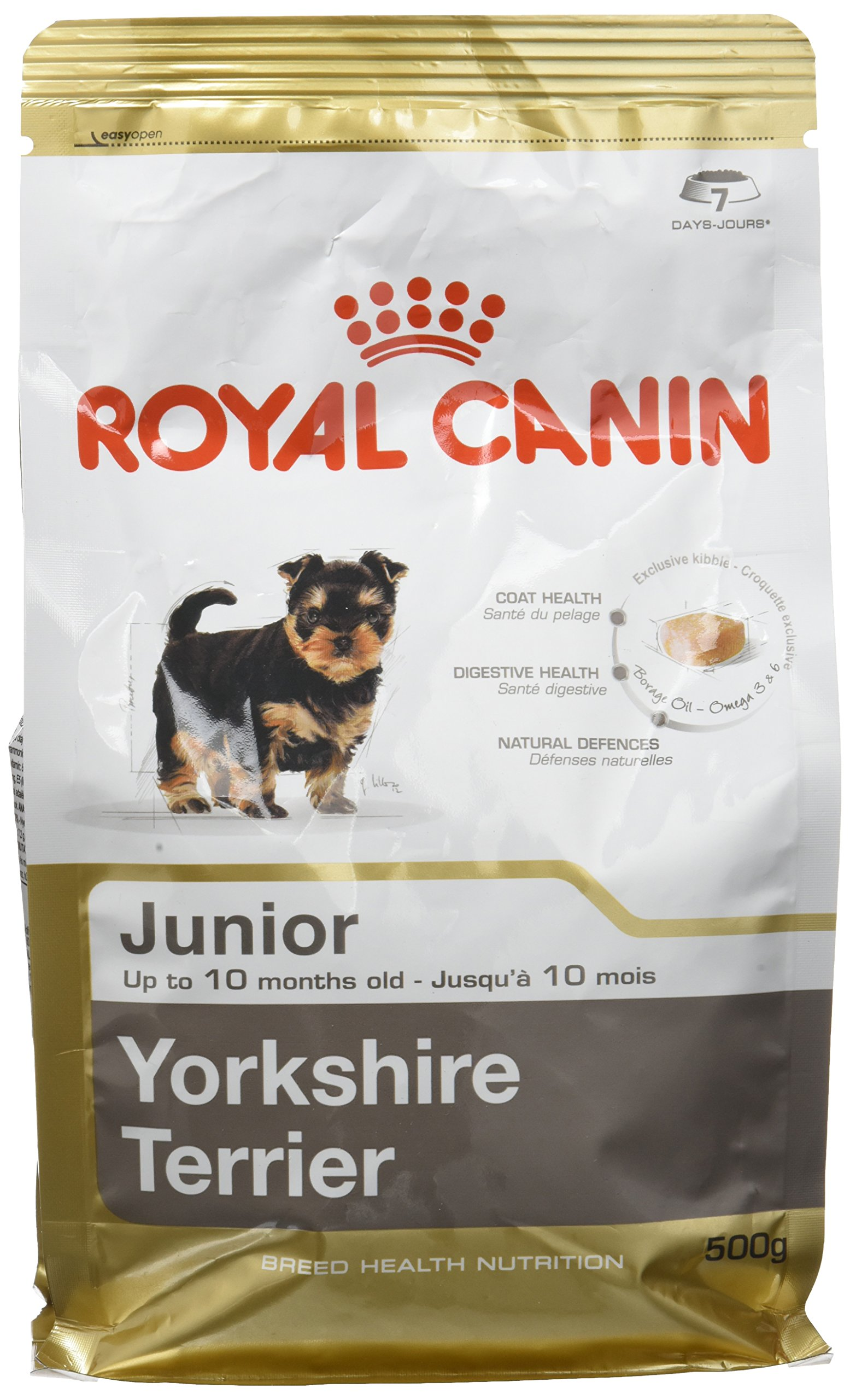 ROYAL CANIN Yorkshire Junior Dog Food, 0.5 kg