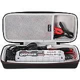 LTGEM EVA Voyage Étui Housse De Protection Case Compatible Avec NOCO Chargeur de batterie intelligent Genius G3500EU 6V/12V 3.5A