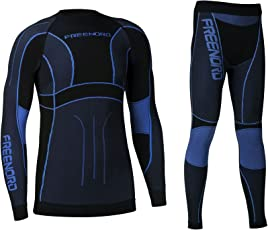 POWERTECH Herren Funktionswäsche Thermoaktiv Atmungsaktiv Base Layer SET Outdoor Radsport Running