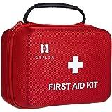 230 delar första hjälpen-kit – TENQUAN nödsituation kit, räddningsväska med nödfoliefilt lämplig för hembil kontor husvagn ca