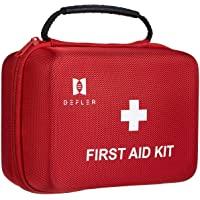 TENQUAN First aid kit, 230pcs First Aid Kit All for Emergencies and Survival Situations, Ideal for Home Car Camping…