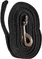 Mera Puppy High Quality Dog Leash 20 Feet Long, for Medium to Big Dogs (Black)