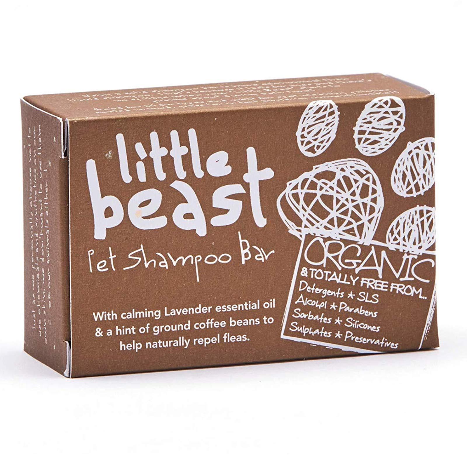 Little Beast Organic Pet Grooming Shampoo Bar – Natural & Vegan (110g)