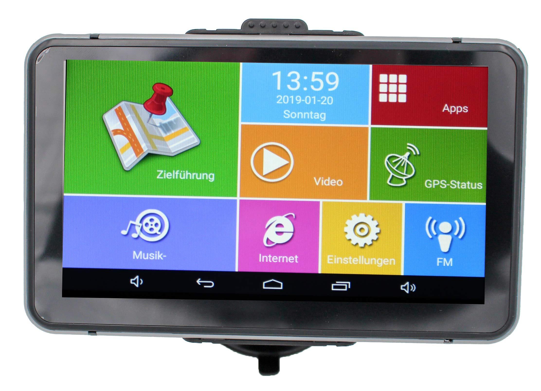 Elebest-Pro-A60-Navigationsgert-178cm-7-Zoll-DisplayAndroid-60WiFiRadarwarnerTablet-PCFr-WohnmobilLKWPKWmit-24GB-SpeicherBluetoothKostenlose-KartenupdateGPS