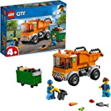 LEGO City Garbage Truck Building Blocks for Kids (90 Pcs)60220