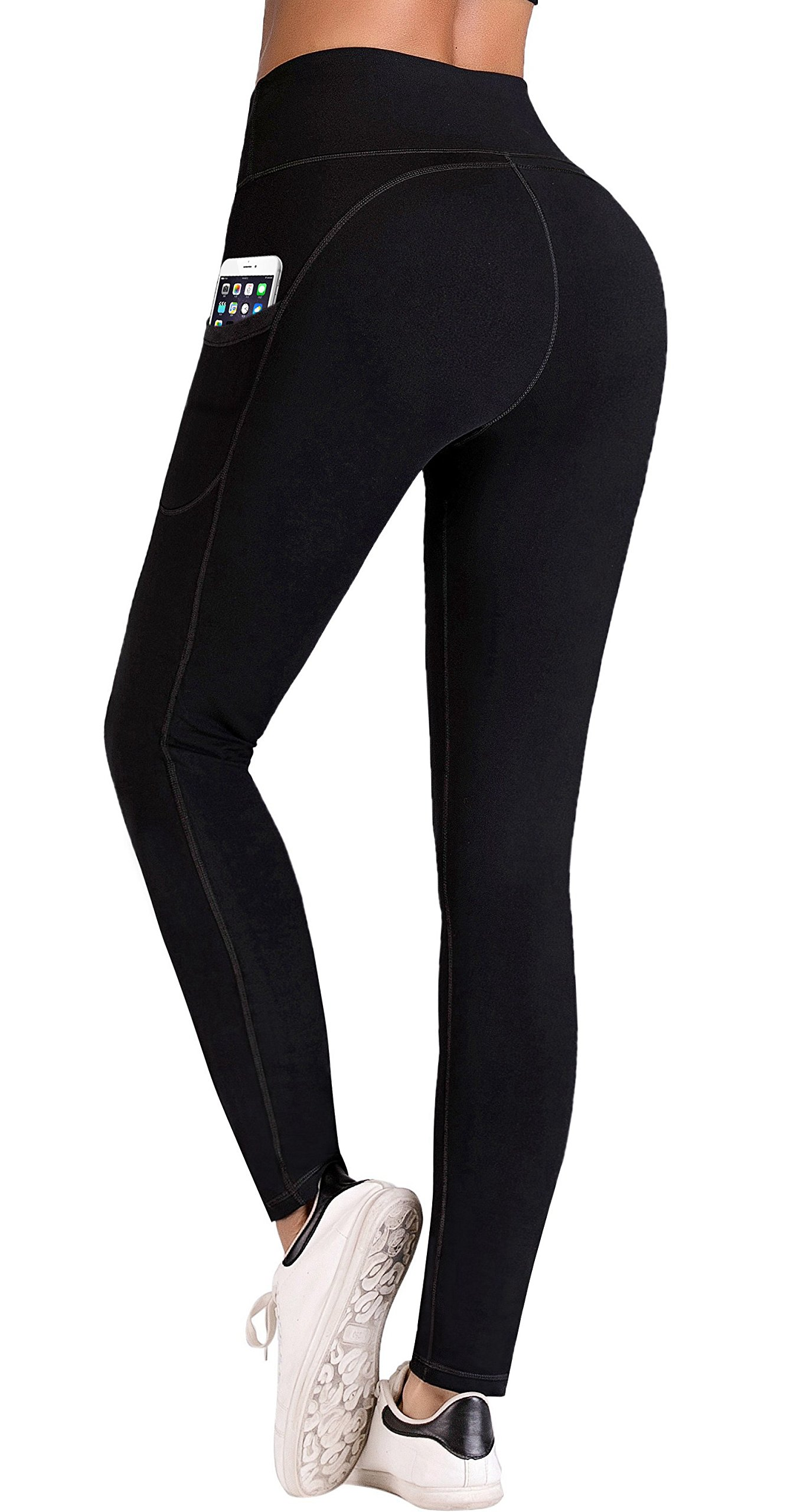 816%2BnIB 1TL - IUGA Yoga Pants with Pockets, Workout Running Leggings with Pockets for Women