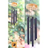 PARADIGM PICTURES Crystal 6 Pipes/Rods Fengshui Windchime with Good Sound for Positive Vibrations and Energy at Home and Offi