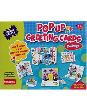 Funskool Handy Crafts Pop Up Greeting Cards Multi Color