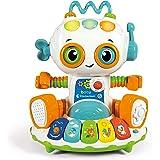 Clementoni - Baby Robot Gioco Elettronico Parlante (versione in italiano), Multicolore, 12 Mesi+, 17393