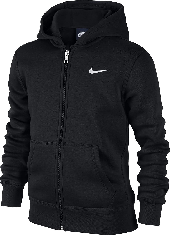 1a9b5489a10dd Nike - Young Athletes 76 - Brushed Sweat-shirt à capuche zippé - Mixte  Enfant
