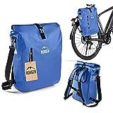 Borgen fietstas voor bagagedrager 3-in-1 fietsrugzak I bagagedragertas I schoudertas - combi fietstas - 100% waterdicht en re
