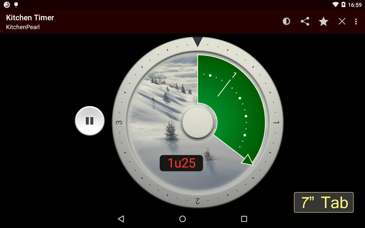 Minuteur de cuisine gratuit appstore pour for Cuisine 3d pour android
