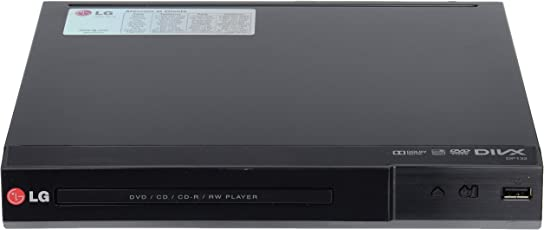 LG DP132 Multi-Format DVD Player with USB Plus, JPG Playback, MP3 and DivX, Dolby Digital Support, Parental Lock