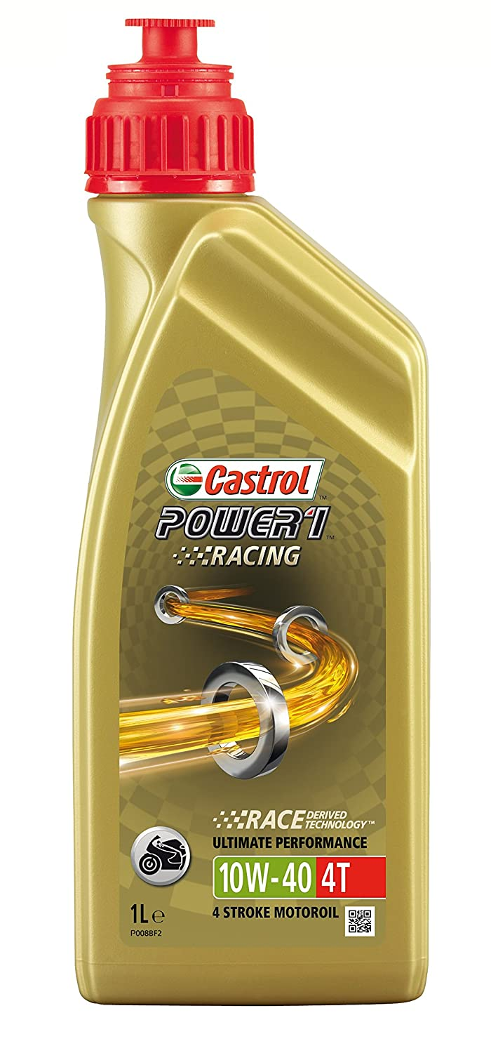 castrol power 1 racing engine oil 10w 40 4t 4l amazoncouk car motorbike bp castrol office design 5
