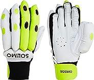 Amazon Brand - Solimo Cricket Batting Gloves, Men