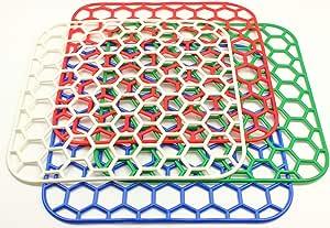 Spülbeckeneinlage eckig Set 28cm Spülbeckenmatte Kühlschrankeinlage