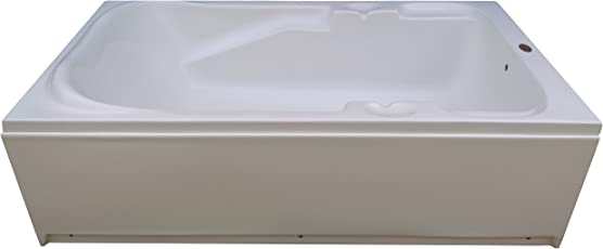 MADONNA Euro Acrylic Bath Tub With Front Panel - White