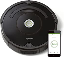 IRobot Roomba 605 Saugroboter (hohe Reinigungsleistung, reinigt alle Hartböden und Teppiche, geeignet bei Tierhaaren)