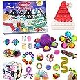 Fidget Toy Adventskalender 2021, Kerst Countdown Kalender 24 dagen Figetsss Toys Sets Stress Relief en Angst Goedkope Fidget
