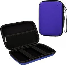 """MoKo GPS Navi Tasche Hülle, Universal 7 Zoll Hartschalenetui Case für 7"""" Navigationsgeräte Garmin, Becker, Tomtom, Magellan mit 7"""" Bildschirm, Blau"""
