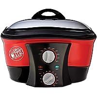 JML V0740 Go Chef Cuiseur Multifonction 8 en 1 1500 W Rouge Taille Unique
