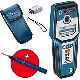 Bosch Professional Wallscanner GMS 120 (marker voor boorgaten, max. detectiediepte hout/ferrometaal/non-ferrometaal/spanningv