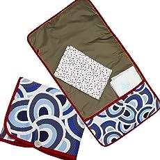 Kadambaby - Baby Waterproof Washable Diaper Changing Mat and Travel mat - blue